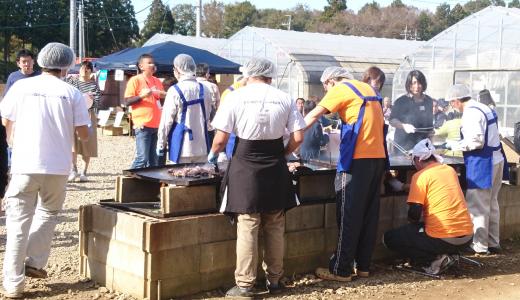 収穫祭で見た障害者スタッフの対応力